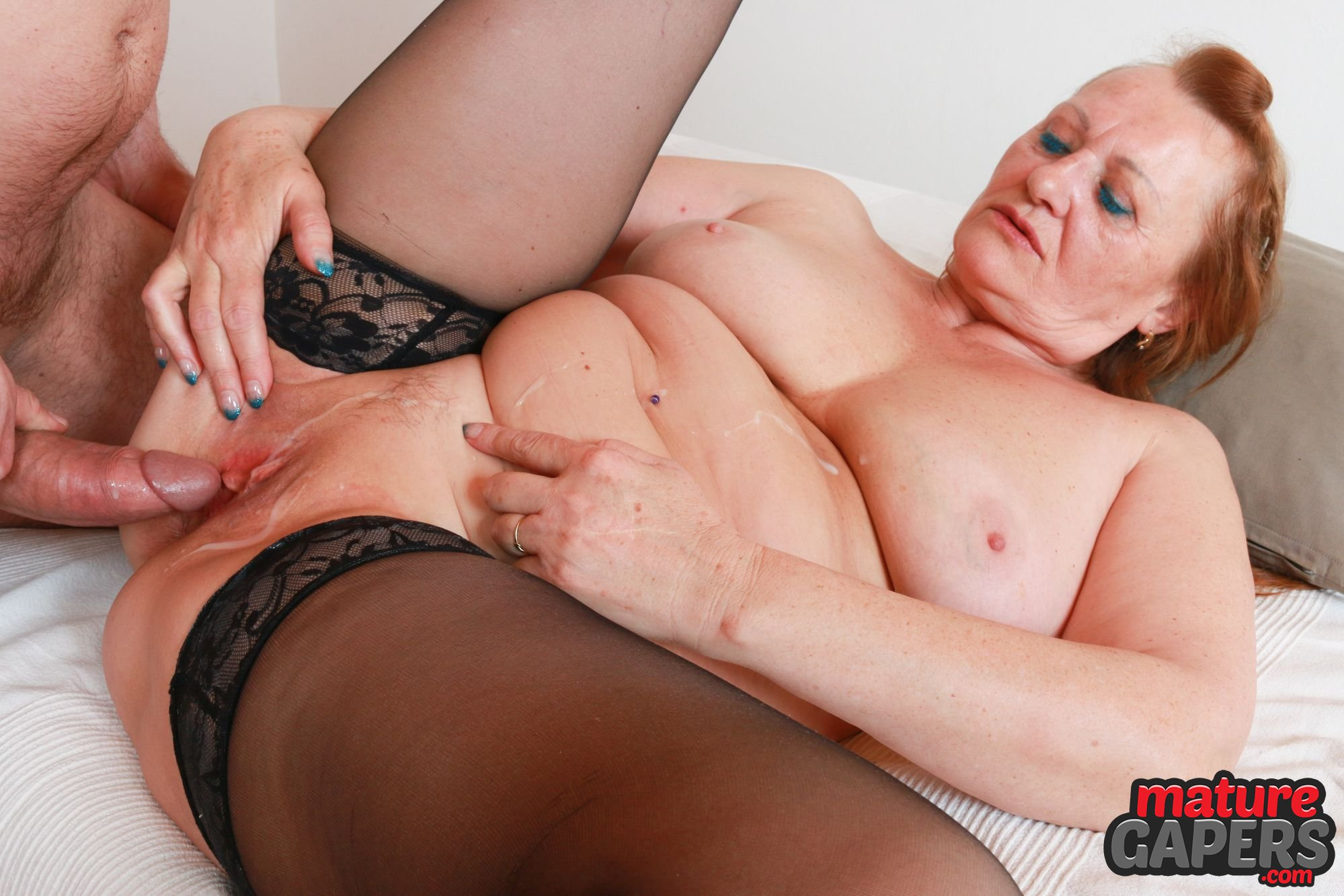 Mature Lady Valerie Mack Gets Her Pussy Gaped And Fucked Hard By Kamil Klein